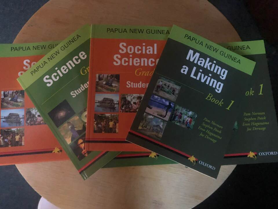 Image of  Text books for Kavovo Primary School
